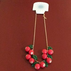 NWT cherry necklace!